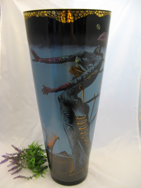 goebel artis orbis dali vase giraffe 60 cm hoch ovp ebay. Black Bedroom Furniture Sets. Home Design Ideas