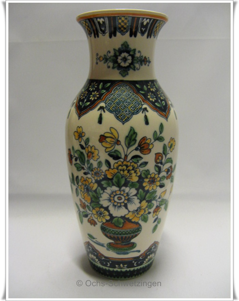 villeroy boch vase alt mettlach ca 23 5 x 10 cm ebay. Black Bedroom Furniture Sets. Home Design Ideas