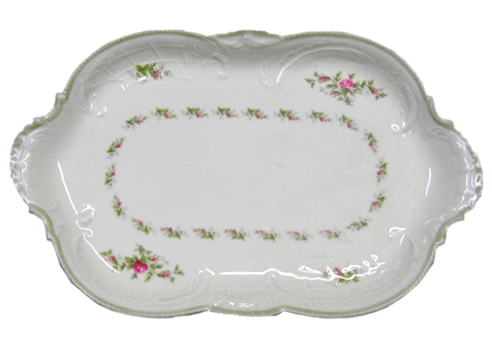 Rosenthal sanssouci 10 rosen platte oval cm x for Innendekoration potsdam