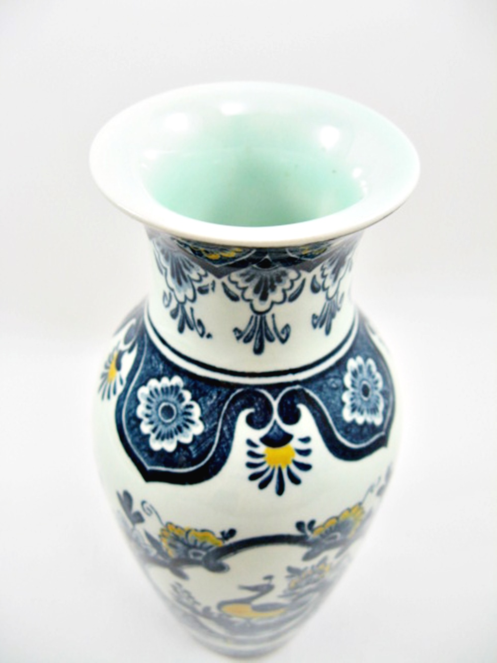 villeroy and boch paon vase blue approx 8 cm height approx 16 5 cm ebay. Black Bedroom Furniture Sets. Home Design Ideas
