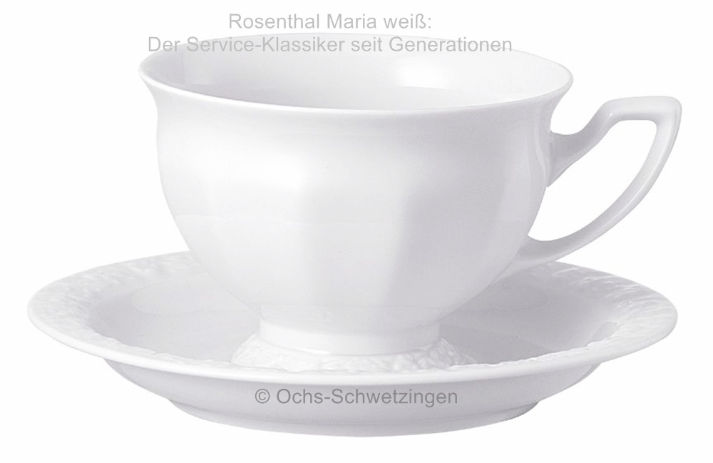 rosenthal maria wei kaffeetasse mit untere 2 teilig ebay. Black Bedroom Furniture Sets. Home Design Ideas